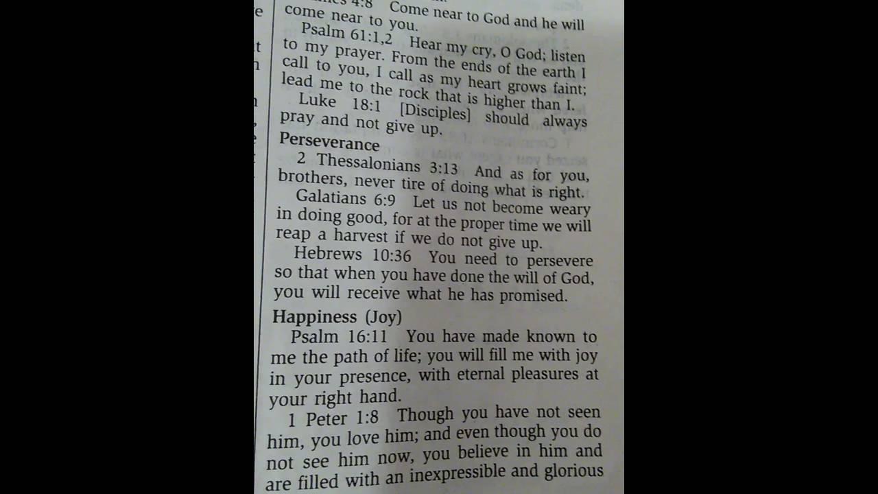 2 Thessalonians 3:13; Galatians 6:9; Hebrews 10:36 - YouTube
