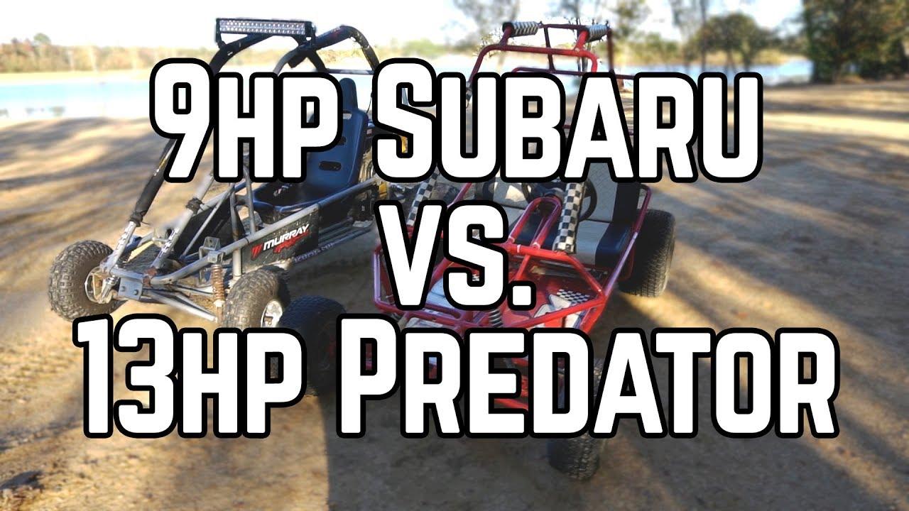 Subaru Yerf Dog vs  420cc Murray