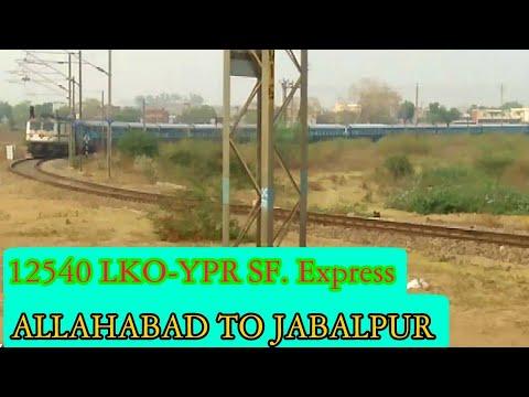 ALLAHABAD JN. to JABALPUR JOURNEY Journey Compilation- NCR to WCR Journey || Indian Railways
