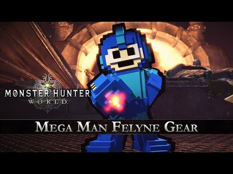 Monster Hunter: World - Mega Man Collaboration Gear