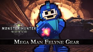 Video Monster Hunter: World - Mega Man Collaboration Gear download MP3, 3GP, MP4, WEBM, AVI, FLV Desember 2017