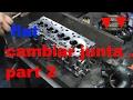 junta de culata motor pat 2( válvulas limpiar descarbonizar)