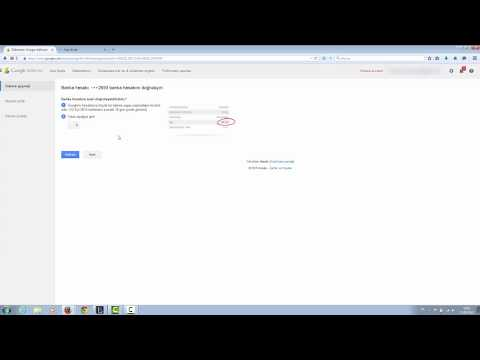 Google Adsensed Bank Account Verification