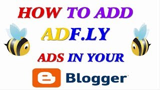 How to Monetize Your Blogger with adfly - Add Full Page Script in Blogger with adf.ly