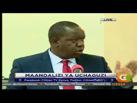 Matiang'i asks police restraint to secure repeat presidential poll