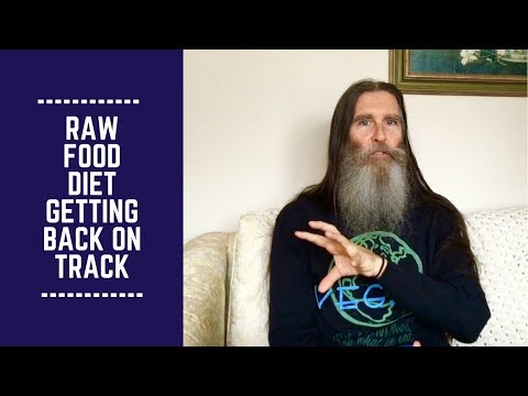 Raw Food Diet/ Getting Back on Track/ Here's How!