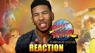 Street Fighter 30th Anniversary Collection LTG REACTION