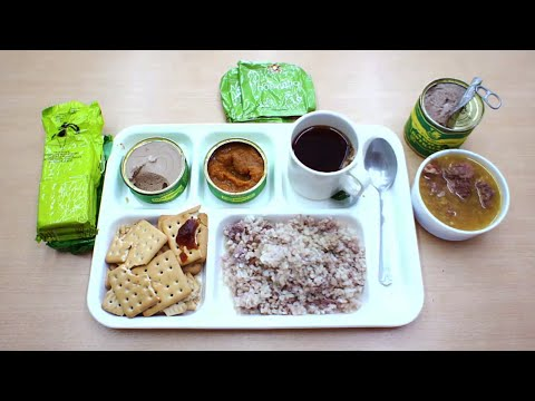 KAZAKHSTAN ARMY RATION (24 Hour Military Ration)