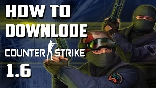 How To Download Counter Strike 1.6 for Free in Hindi | 2016 | GemTech