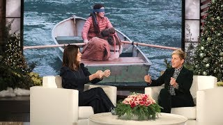 "Sandra Bullock talked to Ellen about being blindfolded in her new movie ""Bird Box,"" and how she found it really easy to yell at her on-screen kids.  #SandraBullock #BirdBox #TheEllenShow"