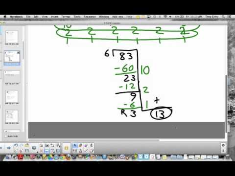 Partial Quotient Division for 4th Graders - YouTube