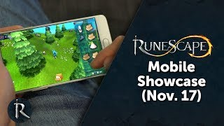 The progress so far on RuneScape Mobile