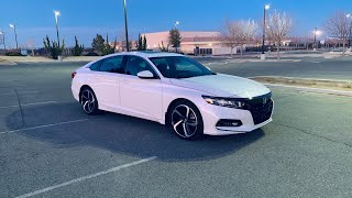 2020 HONDA ACCORD SPORT 2.0T REVIEW!!!