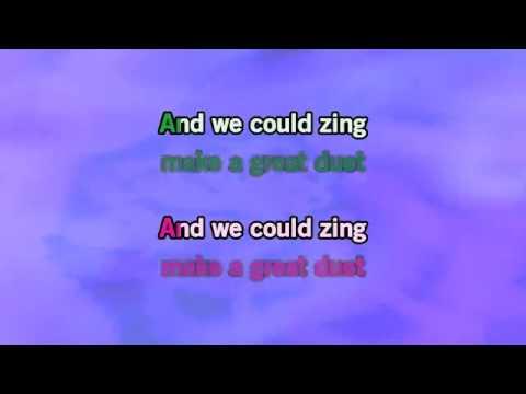 Karaoke Zing A Little Zong   1950s Standards