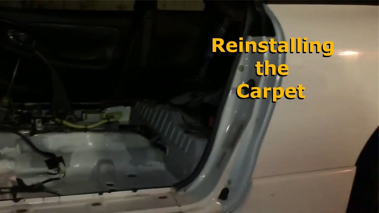 Reinstalling the carpet eclipse 2g project youtube for Garage 2g auto cernay