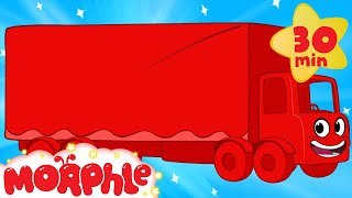 Morphle the Red Truck - 30 minute My Magic Pet Morphle vehicle compilation for kids