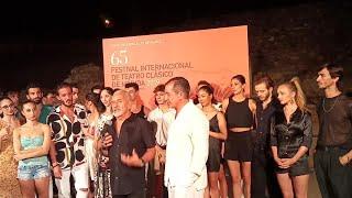 Víctor Ullate celebra el estreno de 'Antigona' en el Festival de Mérida