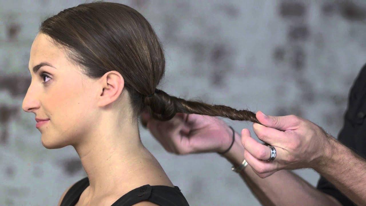 5 Hairbrushes Defying The Undone Hair Trend: Undone Low Bun Hair Tutorial By TRESemmé Style Studio
