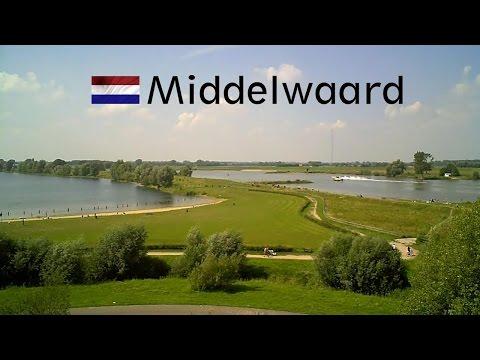 HOLLAND: Lekbrug Vianen / Middelwaard (Utrecht) [HD]