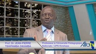 Prof. Dr. Jean-Pierre Tshipamba Dikamba  sur ALTA TV au Canada