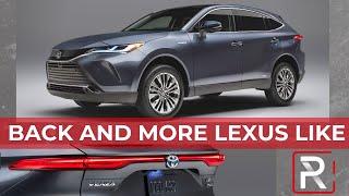 2021 Toyota Venza Hybrid – Redline: First Look