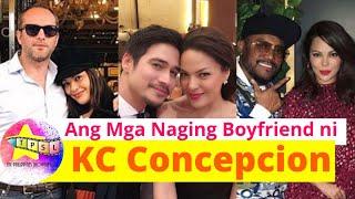 Ang Mga Naging Boyfriend ni KC Concepcion