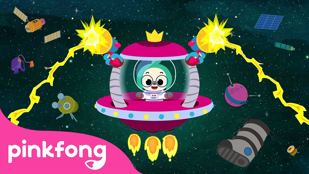 Space Garbage | Space Song | Science for Kids | Pinkfong Songs for Children