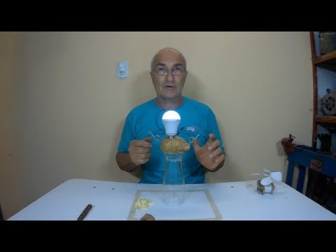 Free Energy: Como iluminar con una Papa (desmiento el video)/Free Energy: How to shine with a Potato