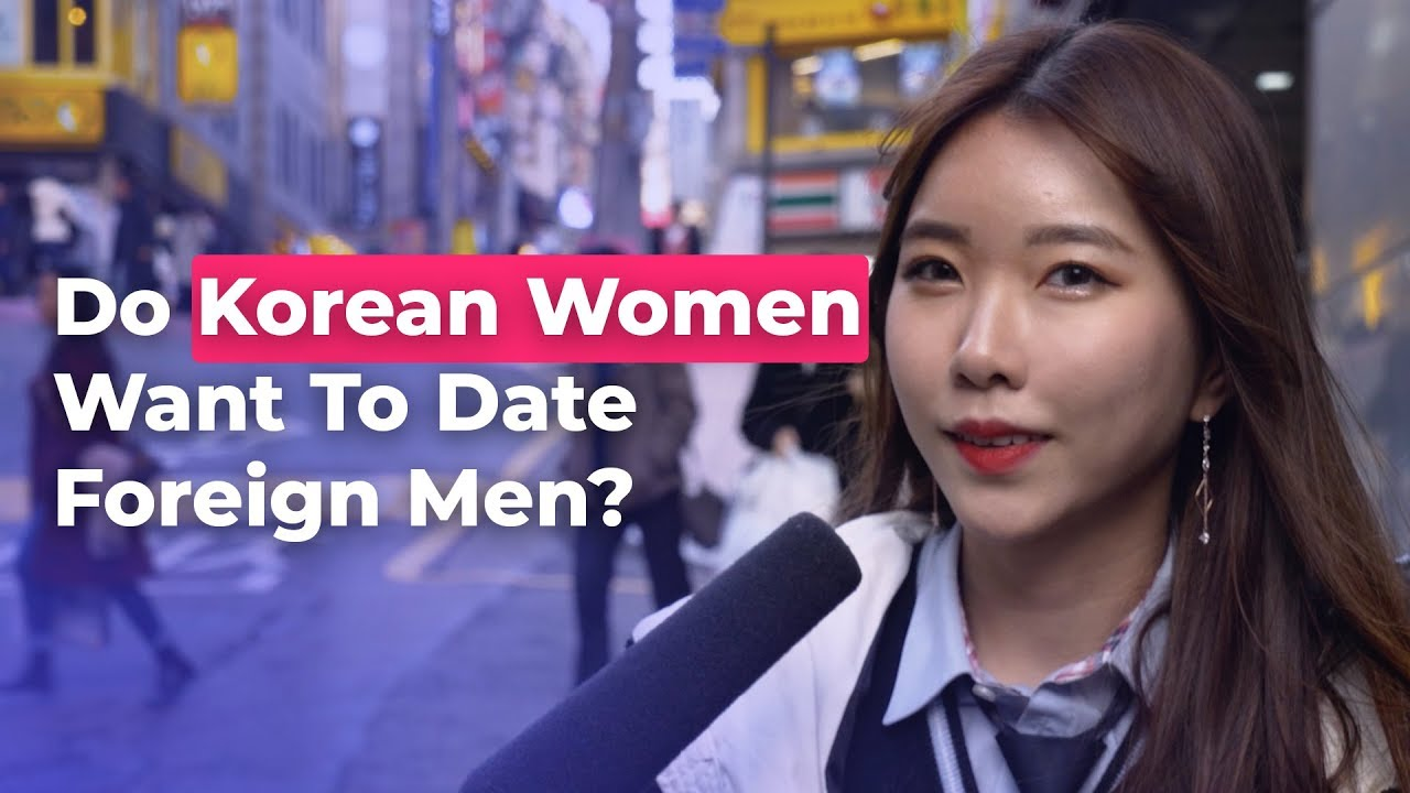 Foreign dating in korea