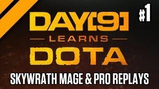 Day[9] Learns Dota - Skywrath Mage & Pro Replay Review: EG vs OG - P1