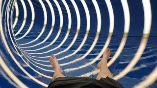 De Zandstuve - Black Hole || Tube 1200 Waterglijbaan Onride POV