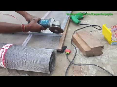 Making Net Fitting Window][ How To Make Aluminium Windows Net