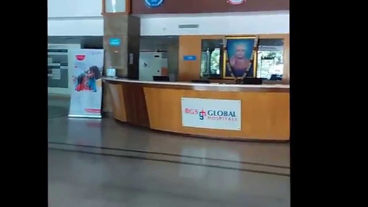 Bgs Global Hospital Bangalore Op Entrance Reception