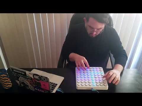 """Ponto""- Live Midi Fighter 64 Beat [NPR Music Tiny Desk Contest 2018 Submission]"