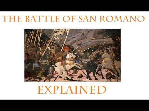 Paolo Uccello's The Battle Of San Romano In 4 Minutes  | LAETITIANA