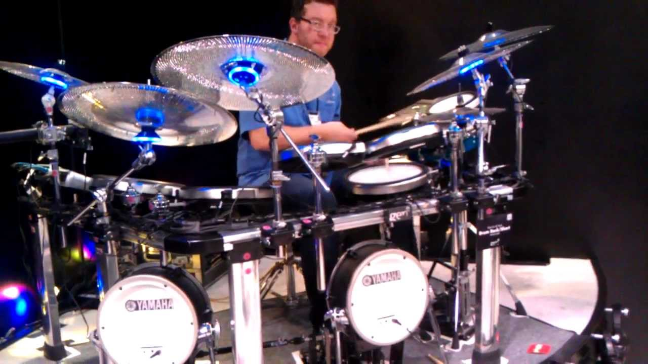 yamaha electronic drum set gen16 cymbals youtube. Black Bedroom Furniture Sets. Home Design Ideas