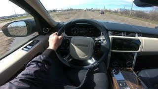 2018 Land Rover Range Rover 4.4 SD AT Autobiography POV Test Drive