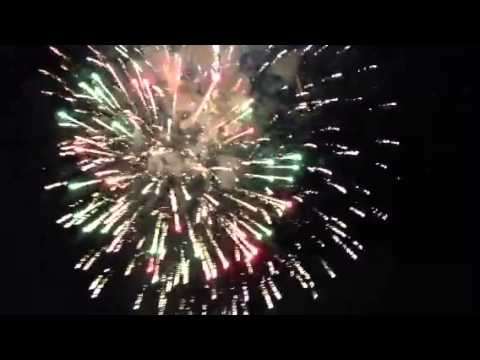 Chicopee Massachusetts fireworks finale