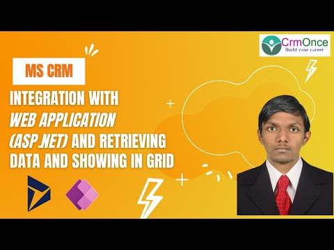 MS CRM 2015 Integration with Web Application(ASP.Net) and Retrieving Data and showing in Grid