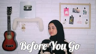 Download lagu Before You Go - Lewis Capaldi Cover By Eltasya Natasha (Lyrics)