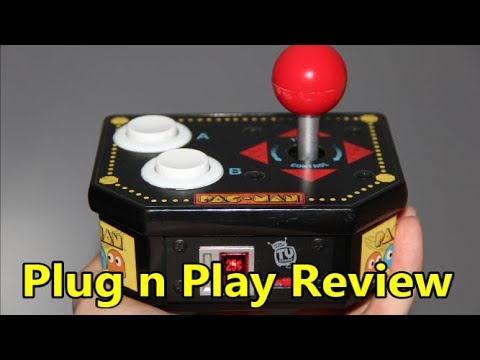 Pac-Man Retro Arcade Plug N Play System Review - The No Swear Gamer Ep 409