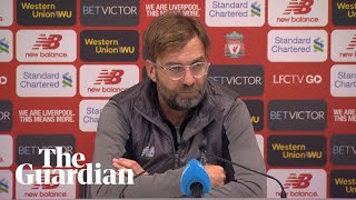 Jürgen Klopp: it's not important how far clear you are in December