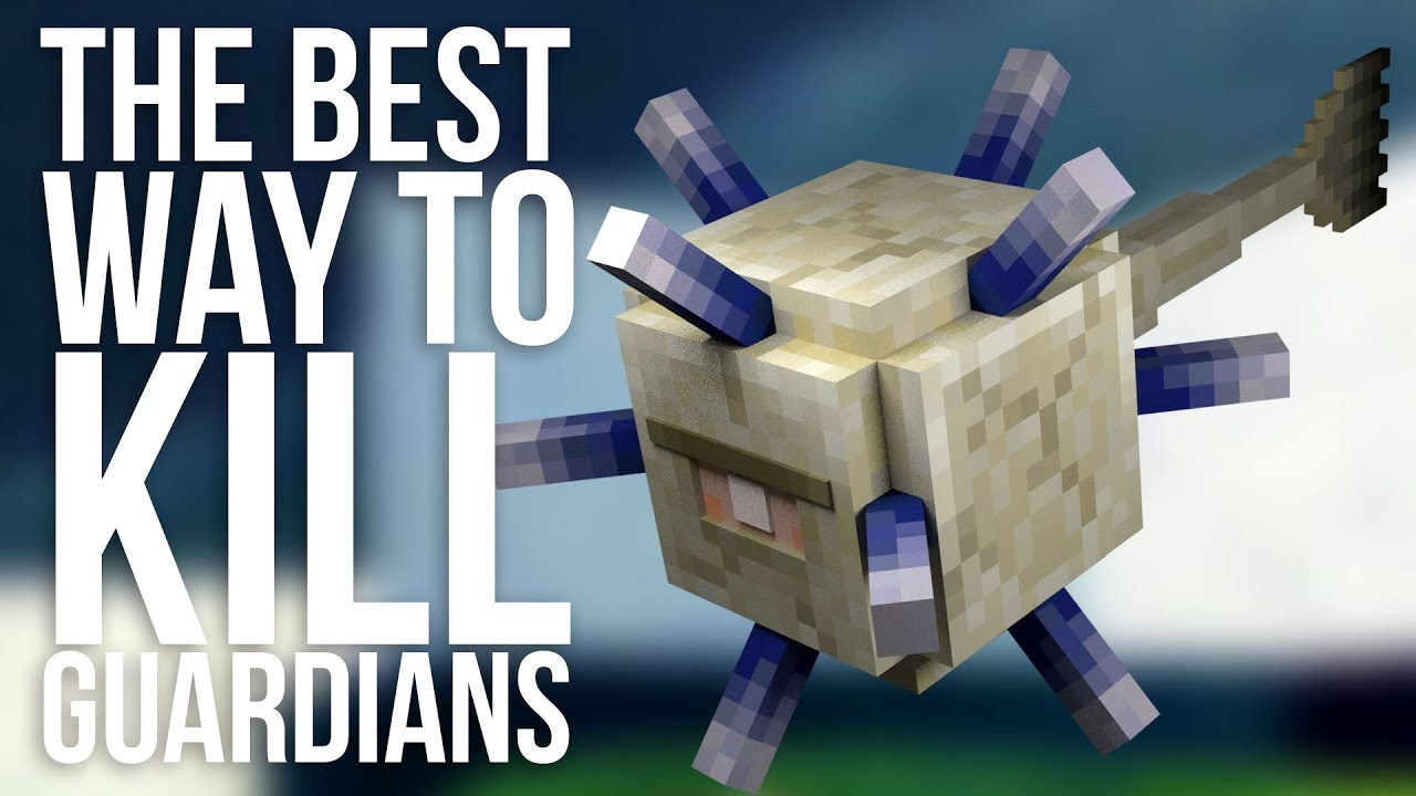 The Best Way to Kill Guardians in Minecraft