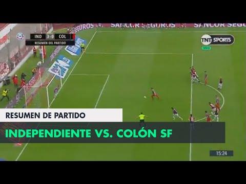 Resumen de Independiente vs Colón SF (3-0) | Fecha 5 - Superliga Argentina 2018/2019