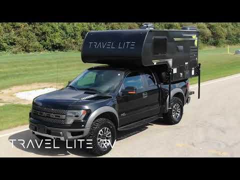 Super Lite Truck Camper Travel Lite Rv Youtube
