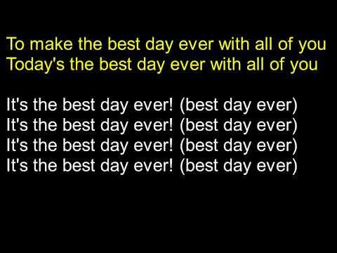 Best Day Ever Lyrics