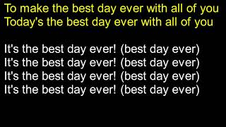Video Best Day Ever Lyrics download MP3, 3GP, MP4, WEBM, AVI, FLV Agustus 2018