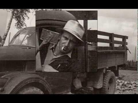 Veljeni Tolja ja Hänen työautonsa.