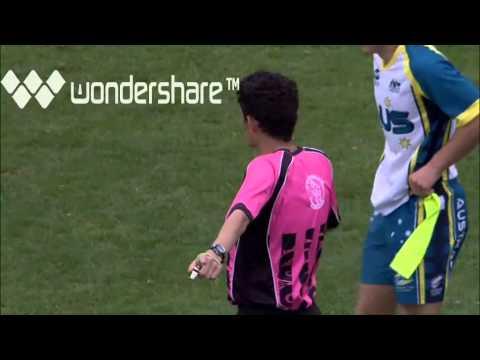 TAG FOOTBALL WORLD CUP UNDER 16s Boys FINAL 2012