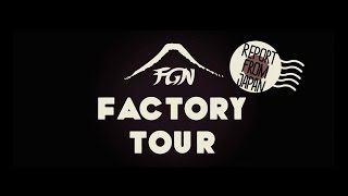 FGN(Fujigen) Guitars Japan - Documentary and Factory Tour (Official)